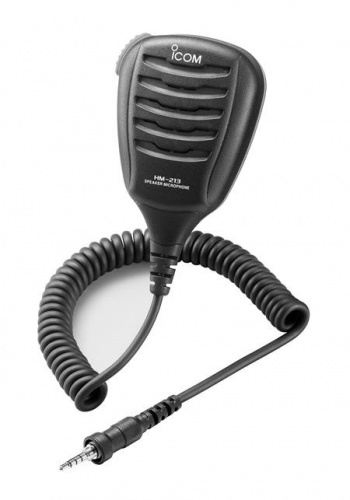 ICOM Micrófono/Altavoz HM-213, Negro