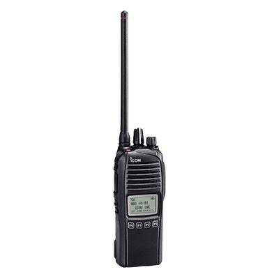 ICOM Radio Digital Portátil de 2 Vías IC-F3261DS/11, 512 Canales, Negro