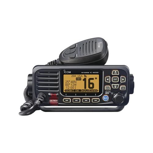 ICOM Radio Marino Portátil de 2 Vías IC-M330G/31, Negro