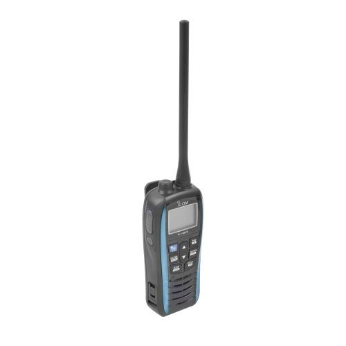 ICOM Radio Análogo Portátil de 2 Vías ICM25/51, 16 Canales, Negro