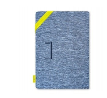 "I Joy Funda de Tela 3567042014008 para Tablet 8"", Azul"