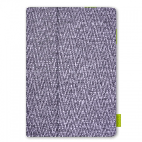 "I Joy Funda de Tweed para Tablet 8"", Púrpura"