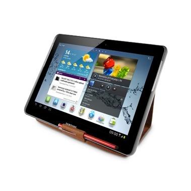 iLuv Funda de Cuero iSS2105 para Tablet Samsung Galaxy Tab ll 10.1'', Café
