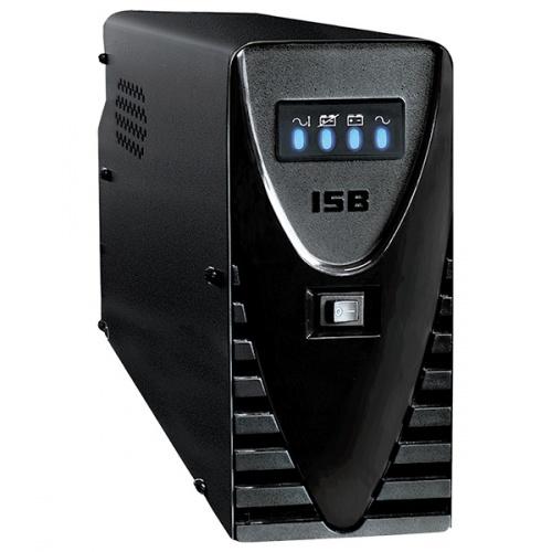 No Break Industrias Sola Basic NBKS, 700W, 1000VA, Entrada 95-140V, Salida 127V, 8 Contactos