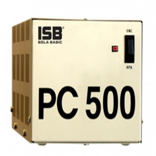 Regulador Industrias Sola Basic PC500, 500W, 500VA, Entrada 127V, Salida 127V