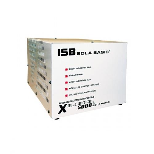 Regulador Industrias Solac Basic, 5000VA, Entrada 150-280V, Blanco