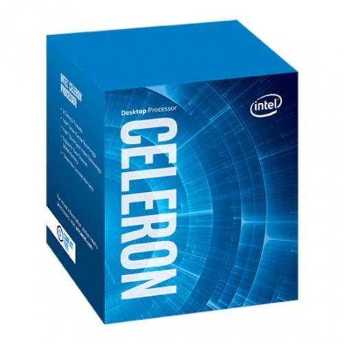 Procesador Intel Celeron G4900, S-1151, 3.10GHz, Dual-Core, 2MB, (8va. Generación Coffee Lake) ― Compatible solo con tarjetas madre serie 300