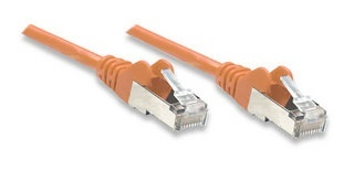 Intellinet Cable Patch Cat5e UTP sin Enganches RJ-45 Macho - RJ-45 Macho, 5 Metros, Naranja