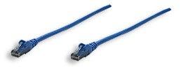 Intellinet Cable Patch Cat6 UTP RJ-45 Macho - RJ-45 Macho, 15cm, Azul