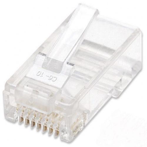 Intellinet Plugs Modulares RJ-45, Cat6, Bote con 100 Piezas