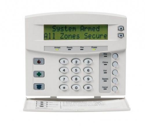 Interlogix Panel de Control con Teclado NX-148E-MX, Inalámbrico, 48 Zonas, Blanco