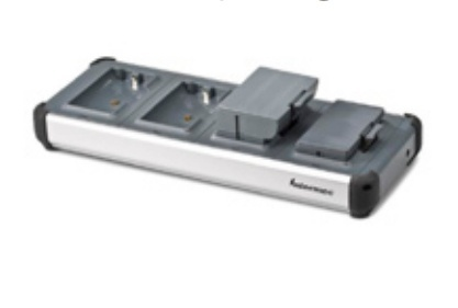 Intermec Cargador para 4 Baterías para PB22/PB32/PB50/PB21/PB31/PB51, Negro/Gris