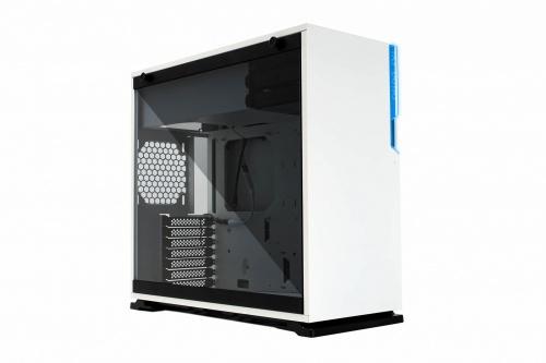 Gabinete In Win 101C con Ventana RGB, Midi-Tower, ATX/Micro ATX/Mini-ITX, USB 3.2/USB-C, sin Fuente, Blanco