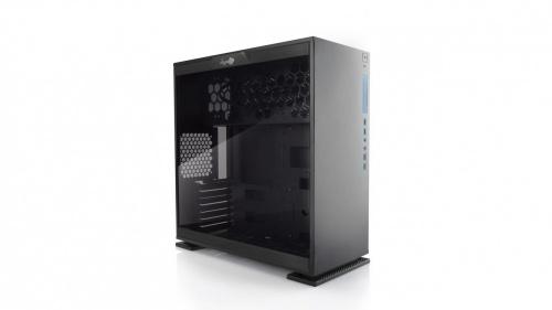 Gabinete In Win 303 con Ventana, Mini-Tower, ATX/Micro-ATX/Mini-ATX, USB 2.0/3.0, sin Fuente, Negro