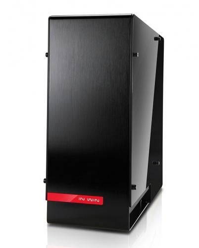 Gabinete In Win 909 con Ventana, Full-Tower, ATX/EATX/Micro-ATX/Mini-ITX, USB 3.0, sin Fuente, Negro