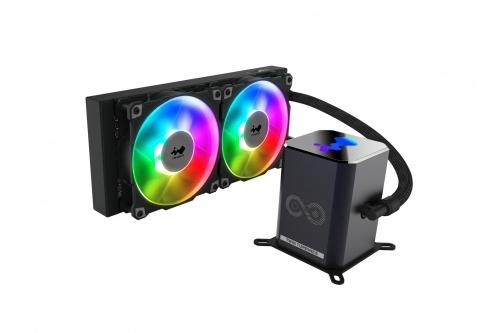 In Win SR24 Pro Enfriamiento Líquido para CPU, 2 x 120mm, 500 - 2500RPM