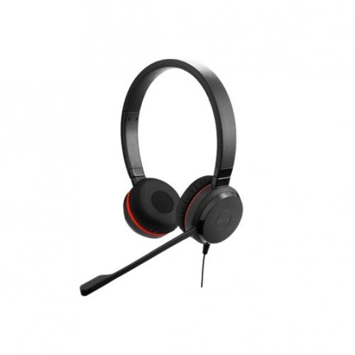 Jabra Audífonos con Micróno Evolve 30 II UC Stereo, Alámbrico, 3.5mm/USB, Negro