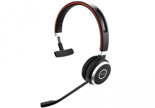 Jabra Audífonos con Micrófono Evolve 40 MS Mono, Alámbrico, 3.5mm, USB, Negro