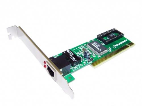 Kaiomy Tarjeta de Red PCI KM8139D, Alámbrico, 100 Mbit/s, 1x RJ-45