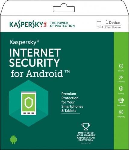Kaspersky Lab Internet Security, 1 Usuario, 1 Año, Android ― Producto Digital Descargable