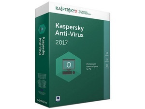 Kaspersky Lab Anti-Virus 2017, 3 Usuarios, 1 Año, Windows