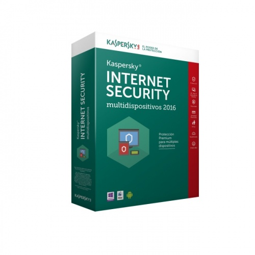 Kaspersky Lab Internet Security 2016, 2 Usuarios, 1 Año, Windows