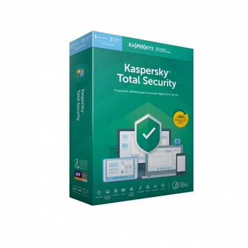 Kaspersky Total Security 2019, 5 Usuarios, 1 Año, Windows/Mac/Android