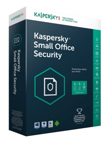 Kaspersky Lab Small Office Security 2017, 5 Usuarios, 1 Año, Windows/Mac/Android/iOS