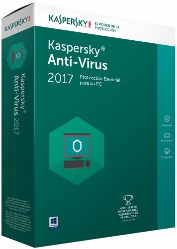 Kaspersky Lab Antivirus, 5 Usuarios, 1 Año, Windows
