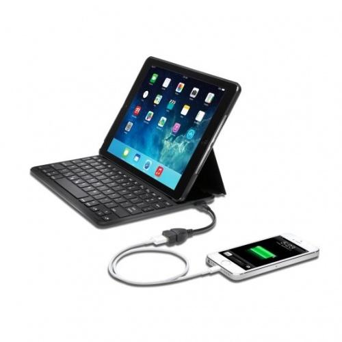 Kensington Funda con Teclado para iPad Air, Negro