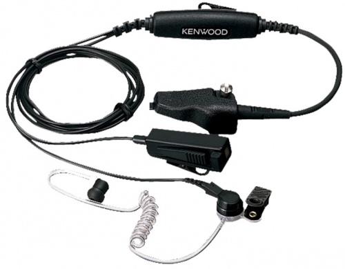 Kenwood Auricular con Micrófono, Negro, para Kenwood