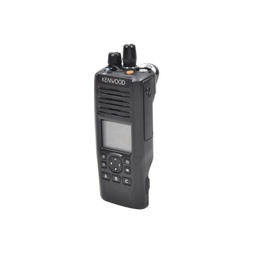 Kenwood Radio Análogo Portátil de 2 Vías NX-5200-K2S, 1024 Canales, Negro - no incluye Antena ni Batería