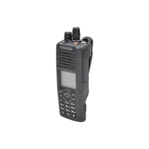 Kenwood Radio Análogo Portátil de 2 Vías NX-5300-K3S, 1024 Canales, Negro - no incluye Antena ni Batería