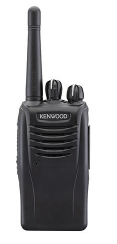 Kenwood Radio Análogo Portátil de 2 Vías TK-2360, 16 Canales, Negro - no incluye Antena ni Batería