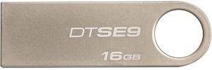 Memoria USB Kingston DataTraveler SE9, 16GB, USB 2.0, Beige