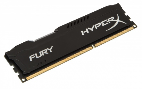 Memoria RAM Kingston HyperX FURY Black DDR3, 1600MHz, 8GB, Non-ECC, CL10