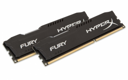 Kit Memoria RAM HyperX FURY Black DDR3, 1600MHz, 16GB (2 x 8GB), Non-ECC, CL10