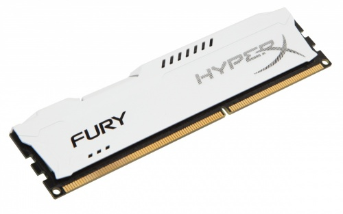 Memoria RAM Kingston HyperX FURY White DDR3, 1600MHz, 8GB, Non-ECC, CL10