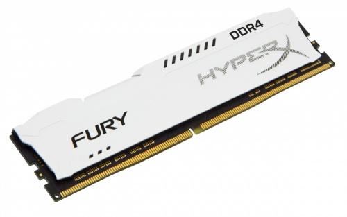 Memoria RAM HyperX FURY White DDR4, 2400MHz, 8GB, Non-ECC, CL15