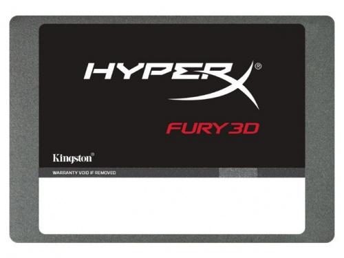 SSD HyperX Fury 3D, 240GB, SATA III, 2.5''