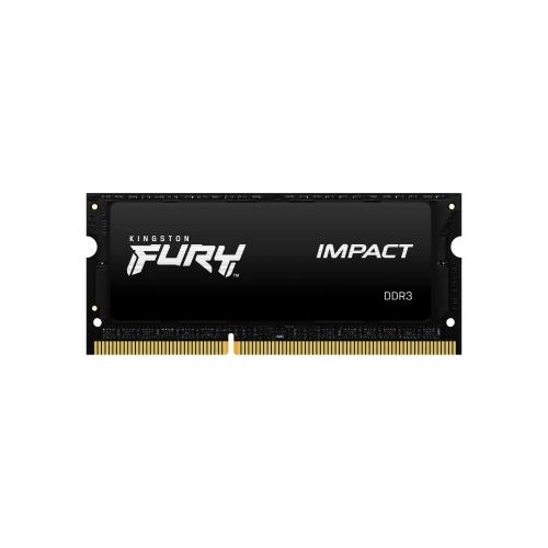 Memoria RAM Kingston FURY Impact Black DDR3L, 1600MHz, 8GB, CL9, SO-DIMM, 1.35v