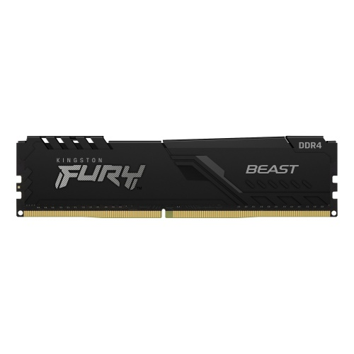 Memoria RAM Kingston FURY Beast Black DDR4, 2666MHz, 4GB, Non-ECC, CL16, XMP