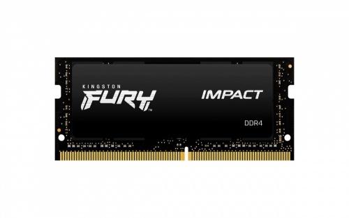 Memoria RAM Kingston FURY Impact DDR4, 2666MHz, 16GB, Non-ECC, CL15, SO-DIMM