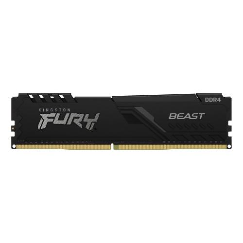 Memoria RAM Kingston FURY Beast Black DDR4, 3200MHz, 8GB, Non-ECC, CL16, XMP