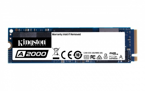 SSD Kingston A2000 NVMe, 1TB, PCI Express 3.0, M2 ― ¡Obtén 15% de descuento al comprarlo con una laptop seleccionada!