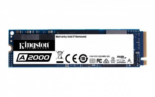 SSD Kingston A2000 NVMe, 500GB, PCI Express 3.0, M2 ― ¡Obtén 20% de descuento al comprarlo con una laptop seleccionada!
