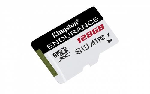 Memoria Flash Kingston High Endurance, 128GB MicroSD Clase 10