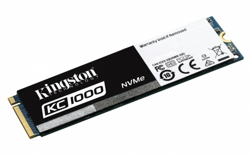 SSD Kingston KC1000 NVMe, 480GB, PCI Express 3.0, M.2