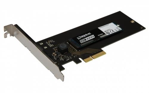 SSD Kingston KC1000 NVMe, 240GB, PCI Express 3.0, HHHL