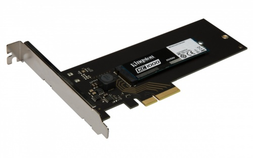 SSD Kingston KC1000 NVMe, 480GB, PCI Express 3.0, HHHL